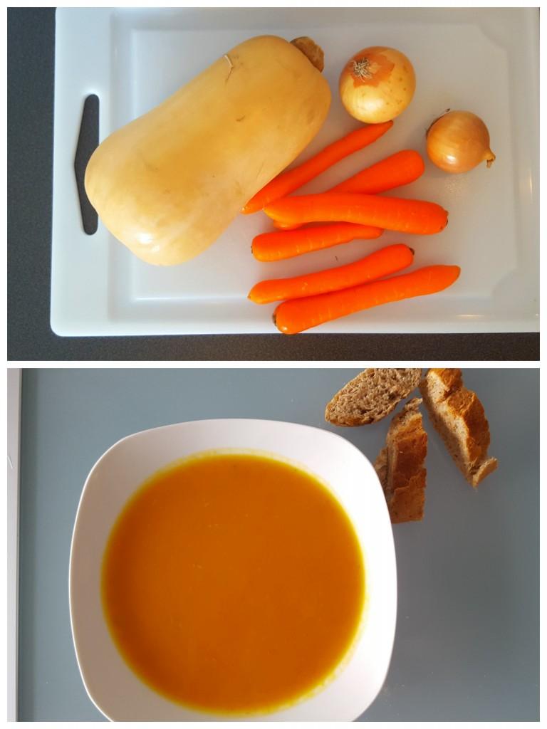 Pompoen wortel soep all lovely things
