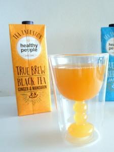 black tea ginger mandarin healthy people