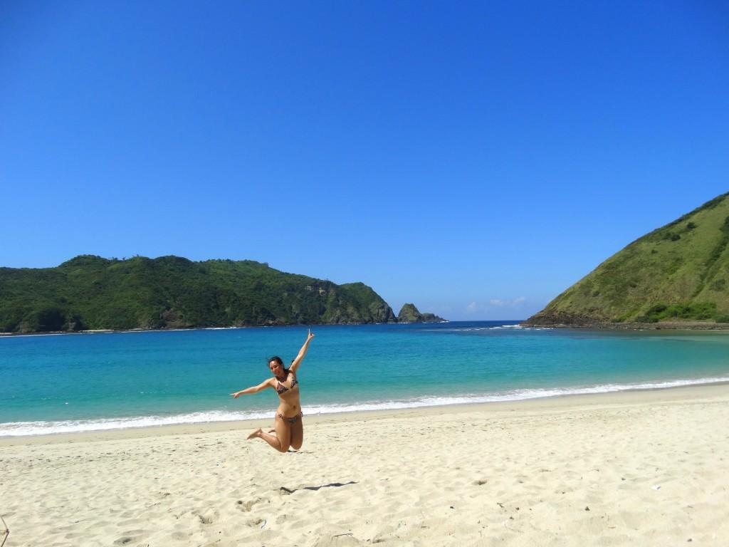 mooiste stranden kuta mawun, lombok, indonesie