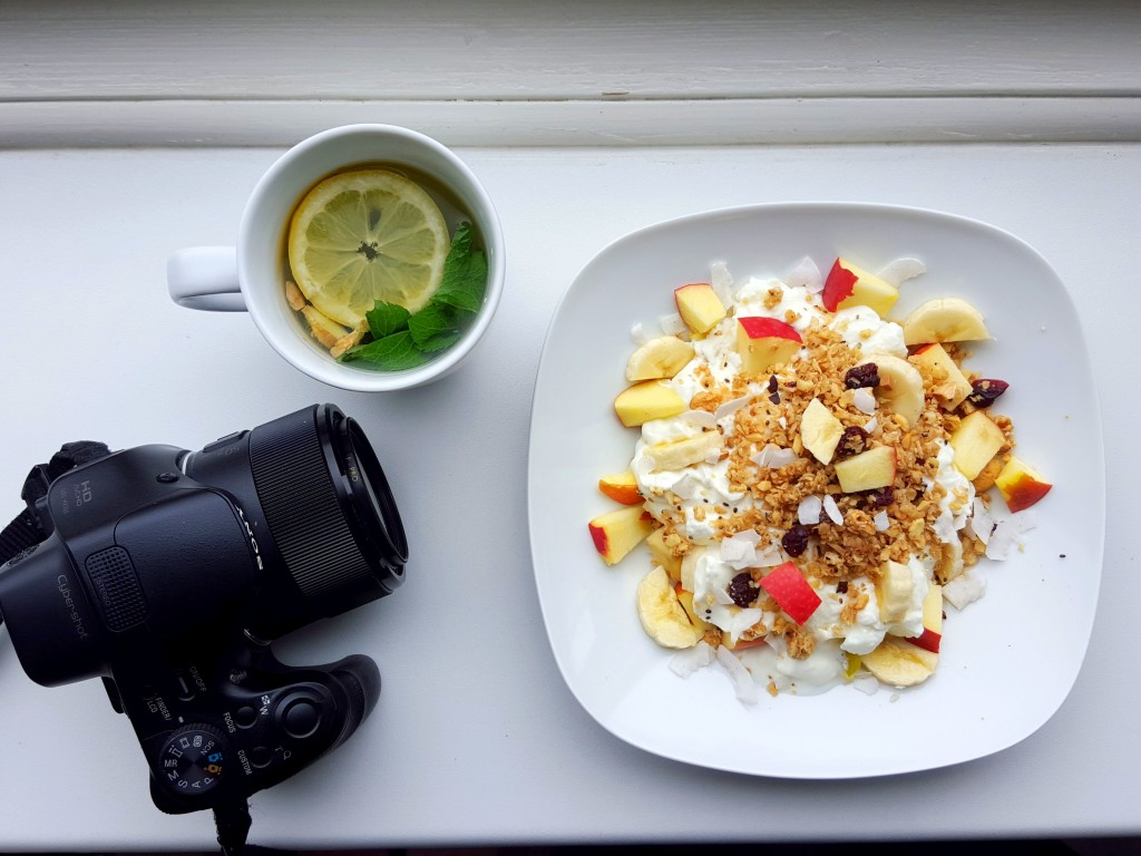 ontbijt sony camera