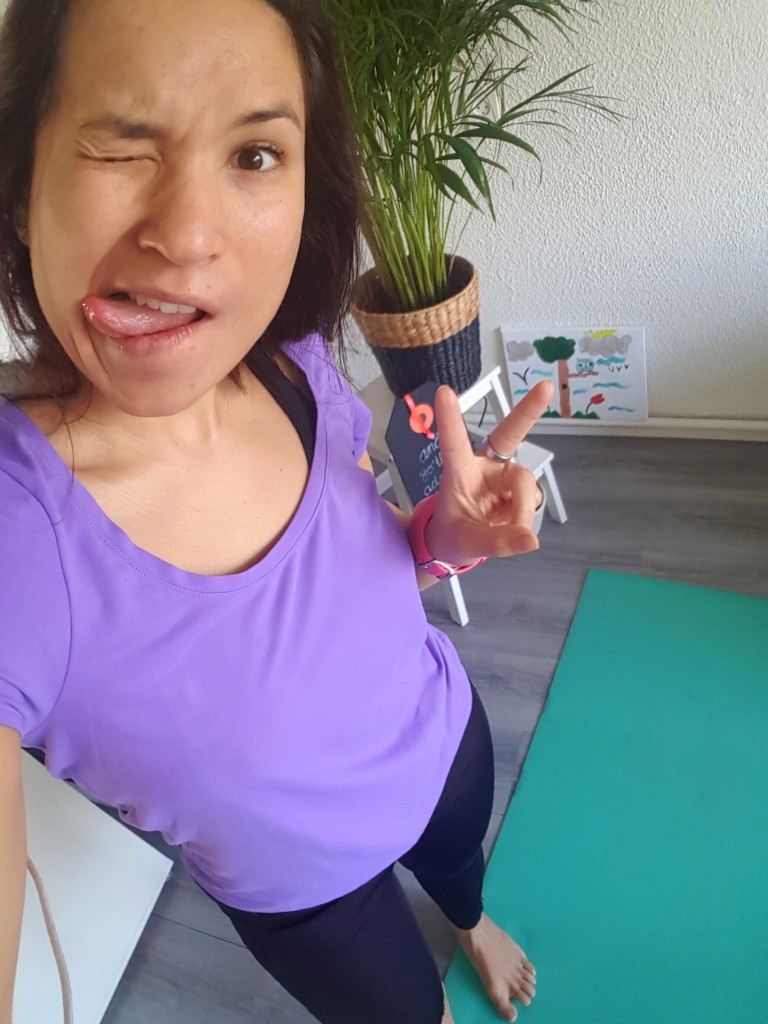 But first yoga