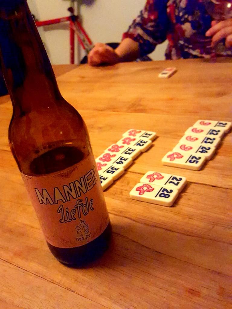 Mannenliefde bier wormen