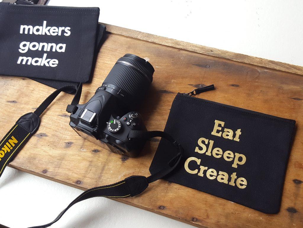 eat sleep create bag shop invisible crown