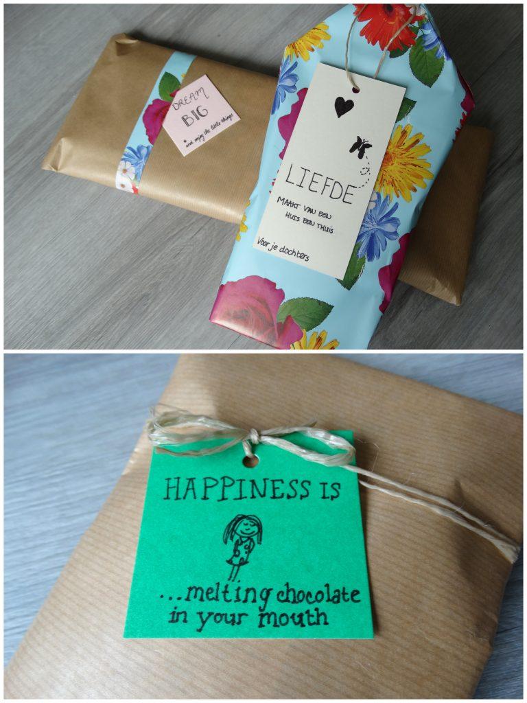 instaswap cadeaus inpakken