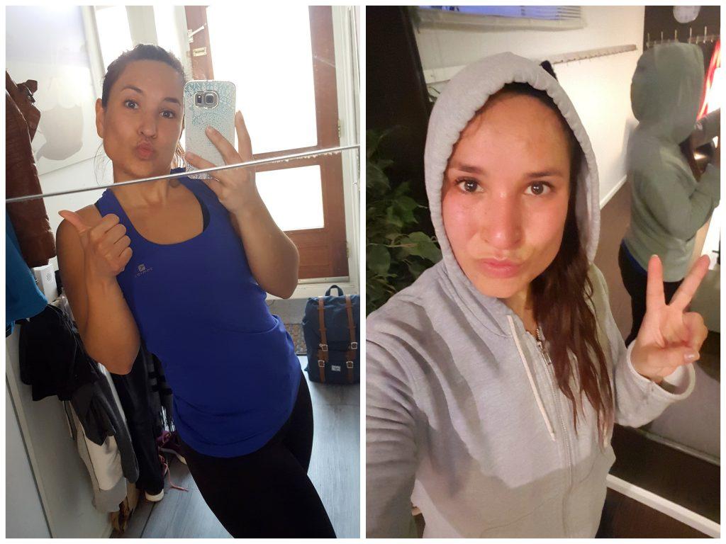 sporten voor en na bootcamp