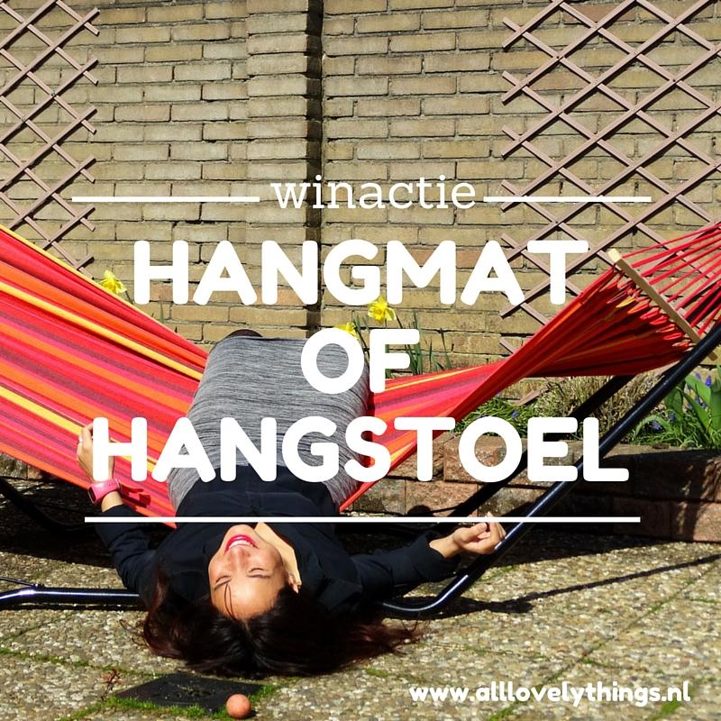 winactie hangmat hangstoel all lovely things