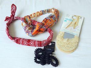 shoplog primark haarband elastiek sokken