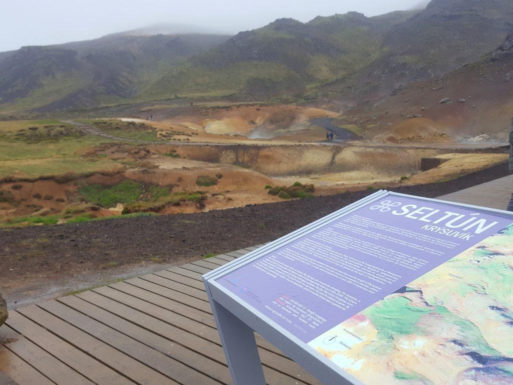 Krysuvik geothermal area iceland