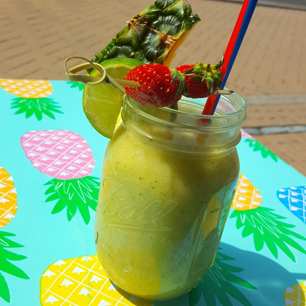 groene smoothie piece of paradise feel good