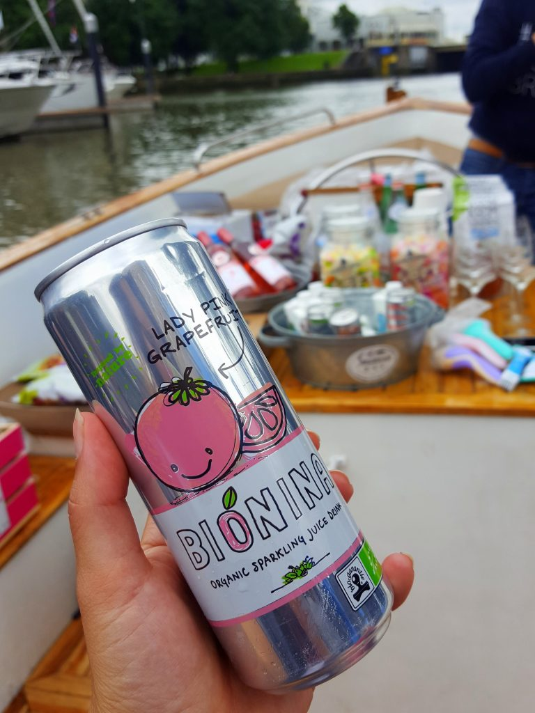 Bionina Organic drink bloggers on board