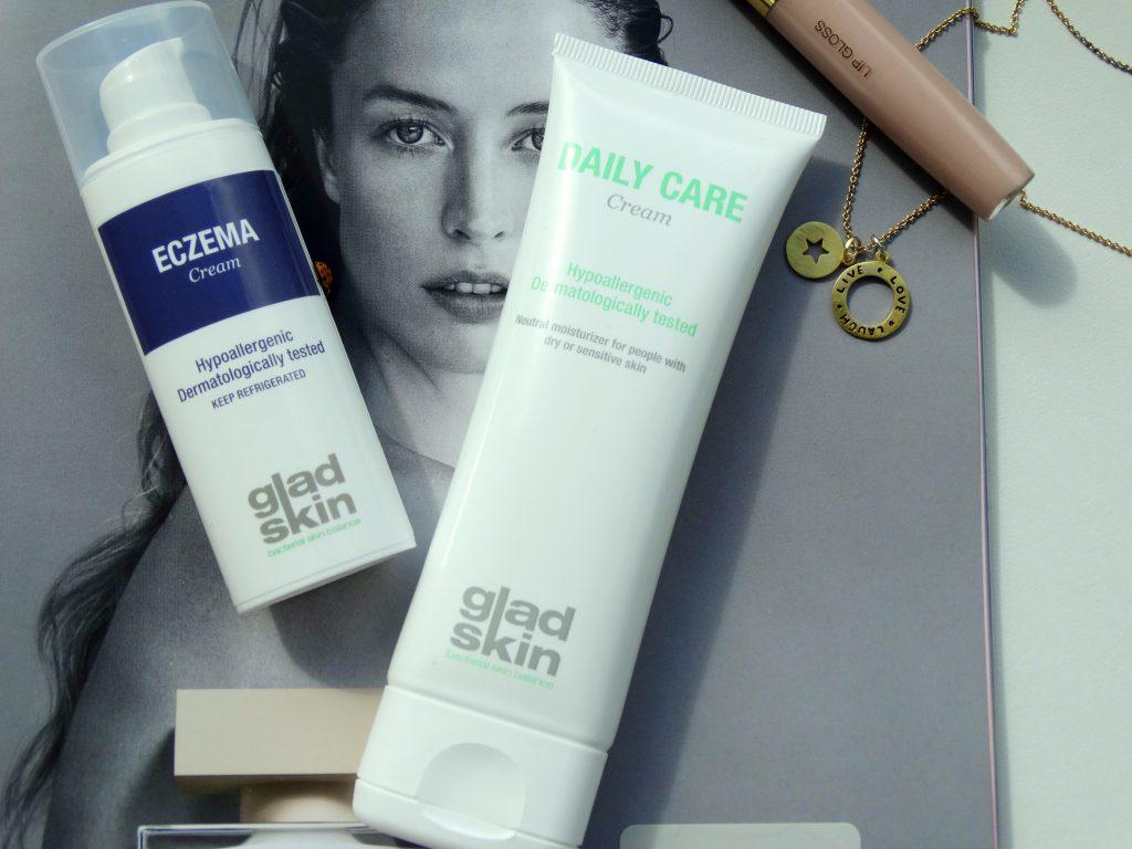 Gladskin, Eczeem behandeling, Gladskin eczema creme, gladskin huidverzorging review