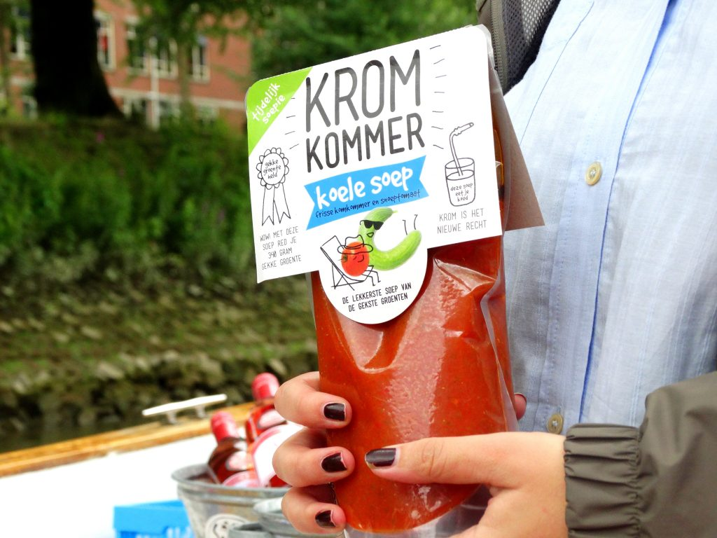 kromkommer koude soep bloggers on board