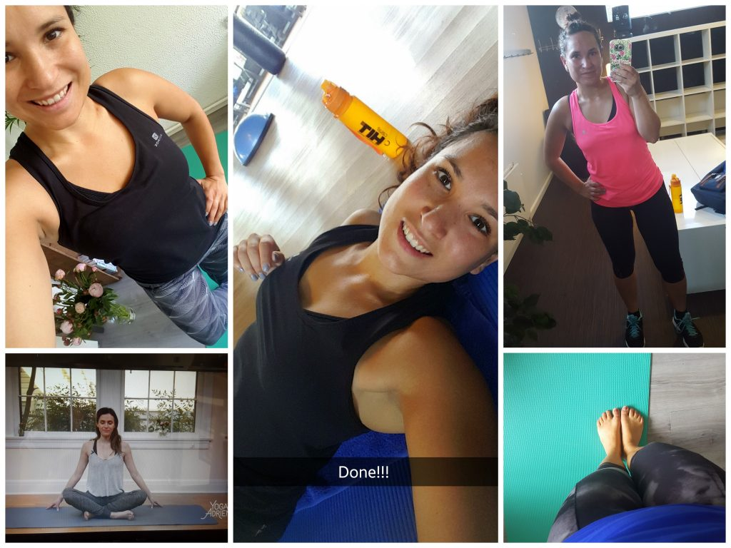sporten yoga all lovely things