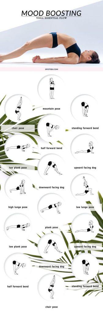 yoga op reis oefeningen