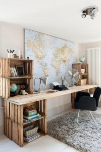 werkkamer-inspiratie-wereldkaart