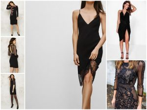 kerstoutfit little black dress