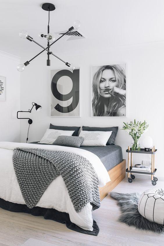 slaapkamer inrichten met lijsten