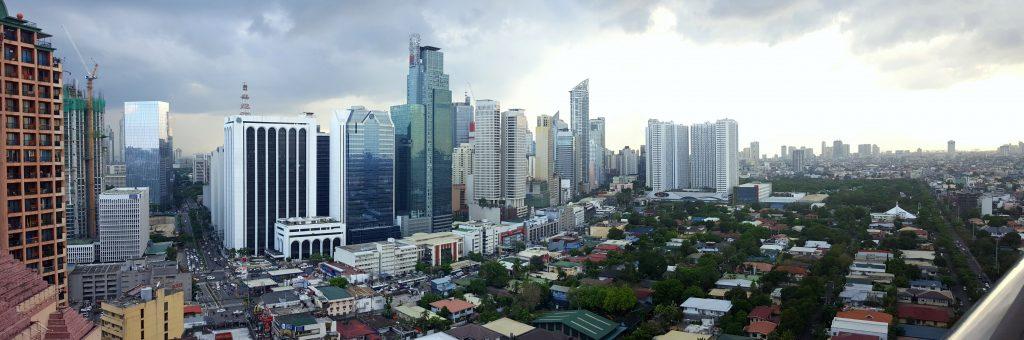 manila Filipijnen skyline opmerkelijke dingen in de filipijnen