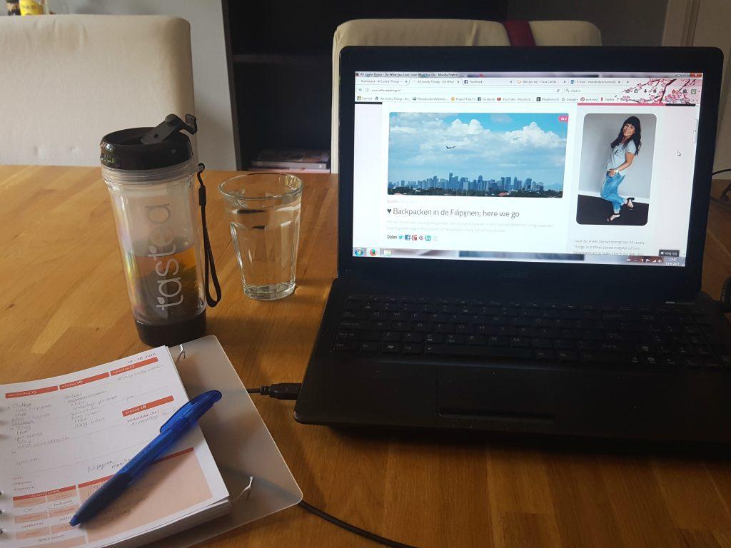 als blogger bloggen plannen tijd voor verandering