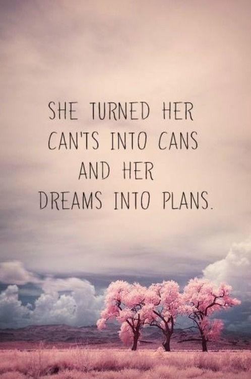 dreams into plans quote