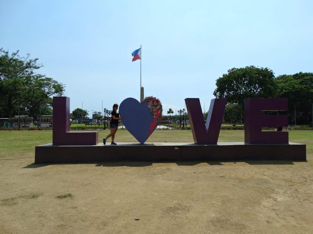 manilla filipijnen love park