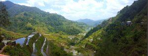 hiken door de rijstvelden van banaue filipijnen