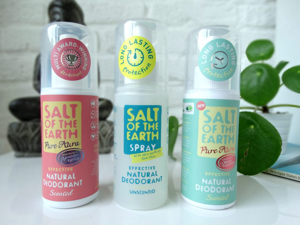 natuurlijke deodorant salt of the earth review