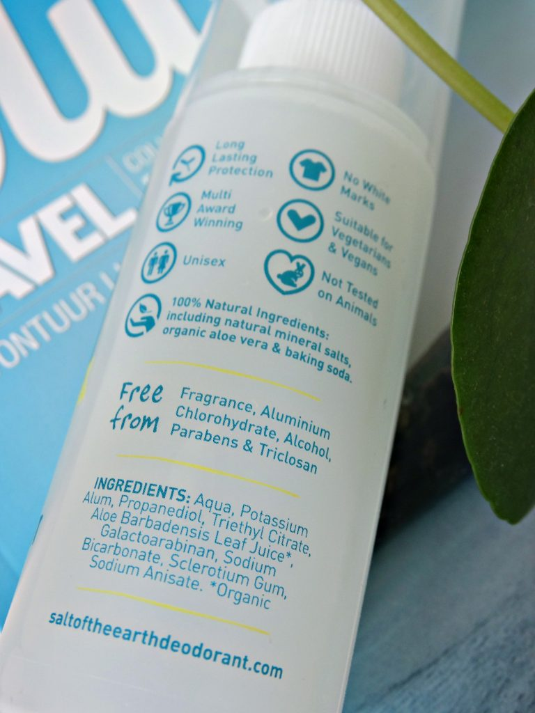 salt of the earth review vegan deodorant