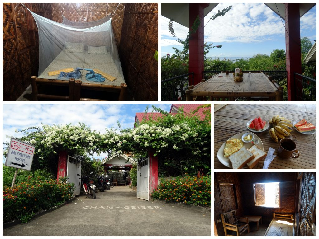 hostel Bohol backpacken steffis place