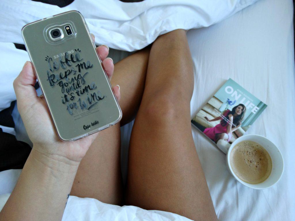 casetastic coffee mobiele telefoon