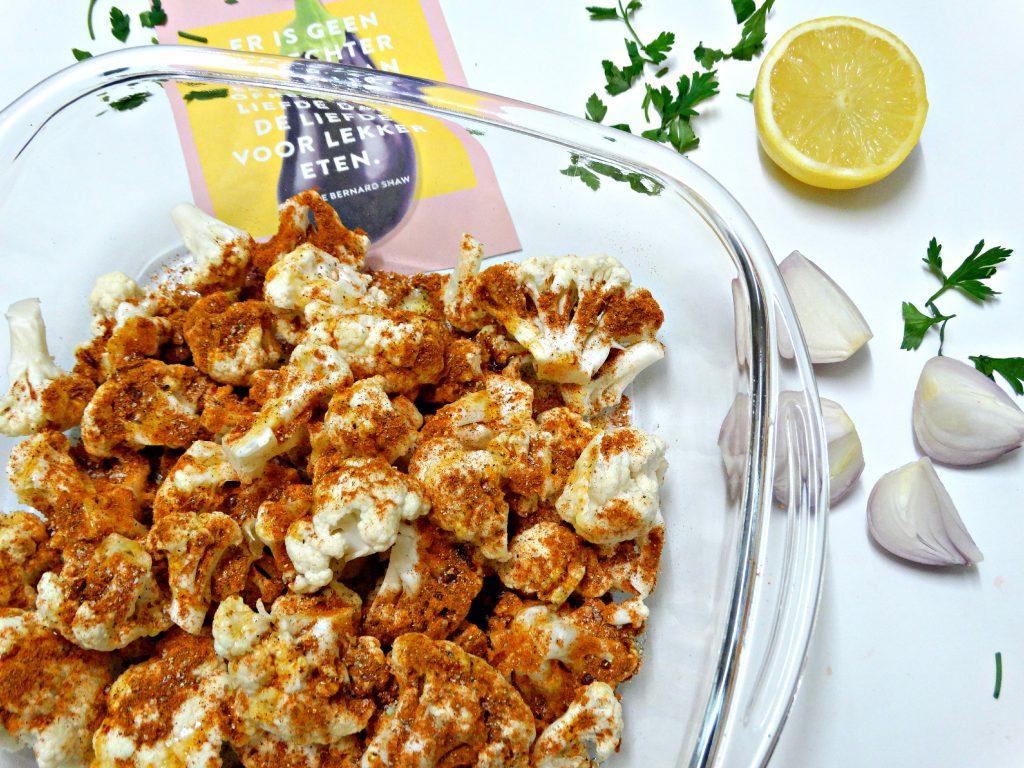 bloemkooltajine geroosterde bloemkool marley spoon recept