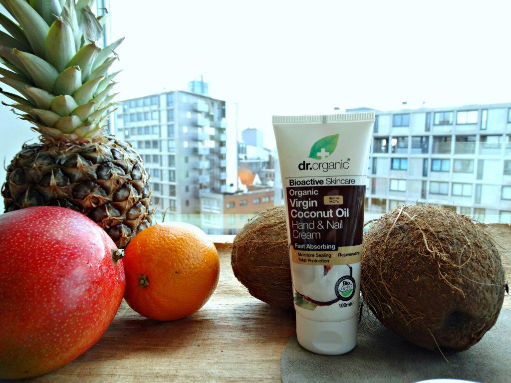dr organic coconut oil handcreme