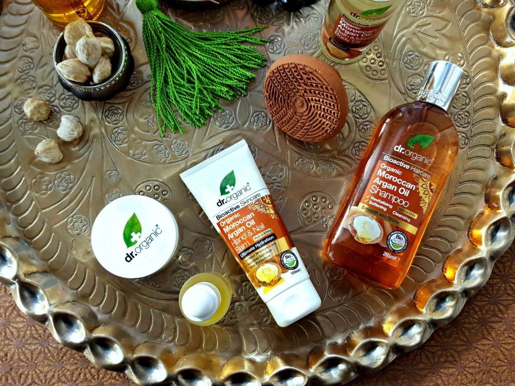 dr. organic moroccan argan oil