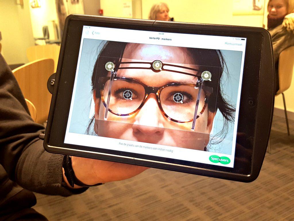 ogen meten specseavers bril uitzoeken