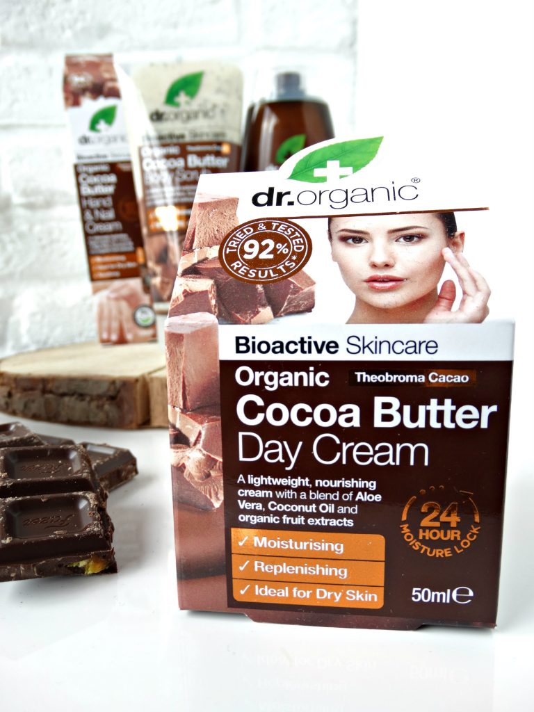 Dr organic cocoa butter daycream