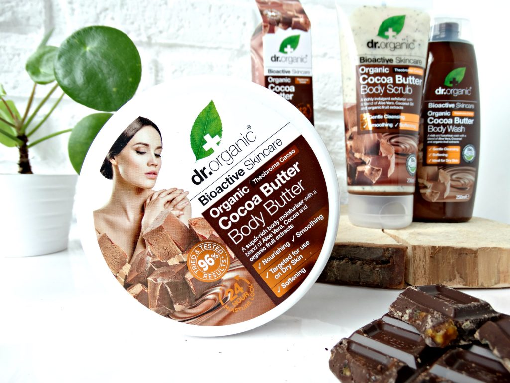 dr organic body butter cocoa butter