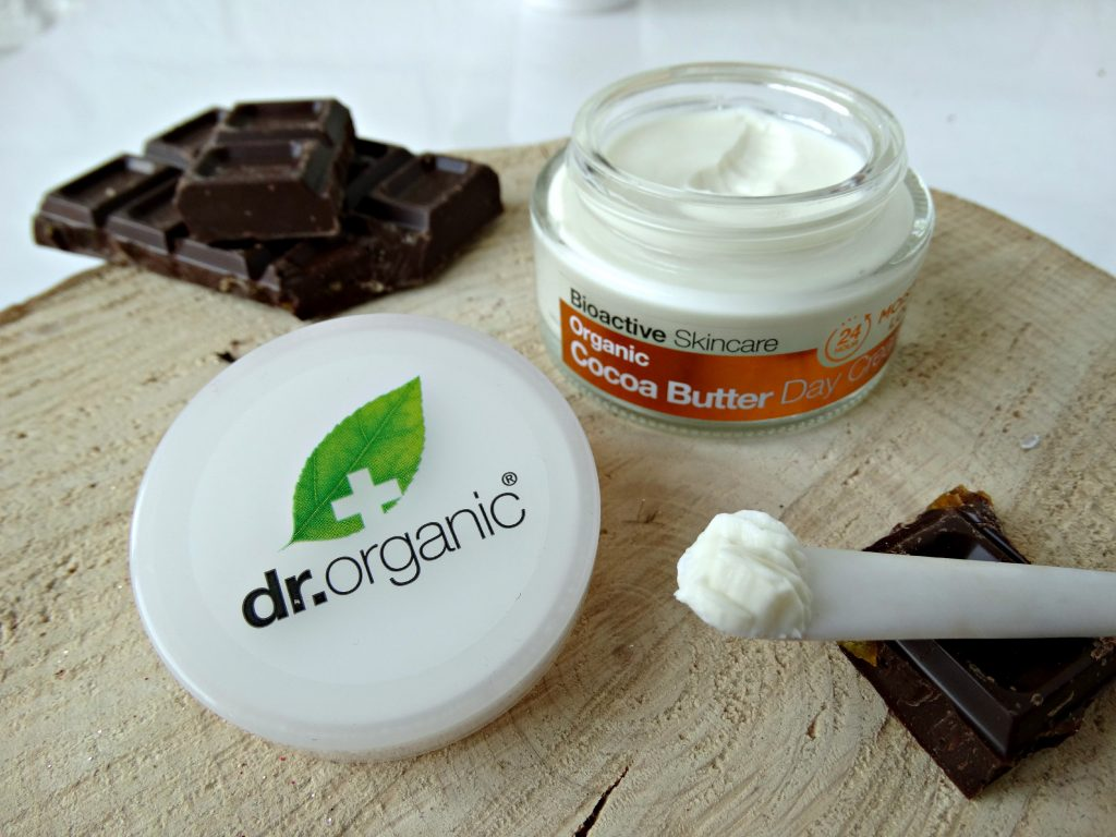 dr organic dag creme cocoa butter