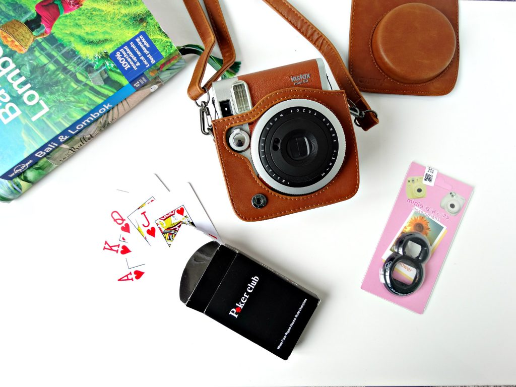 musthaves reizen polaroid tas waterdichte speelkaarten