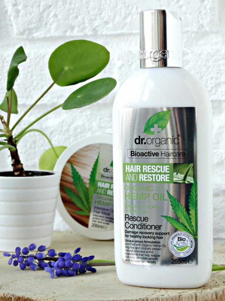 hennep olie conditioner dr organic droog haar