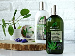 hennep olie dr organic shampoo droge hoofdhuid