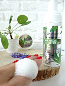 hennep olie mousse scalp treatment dr organic