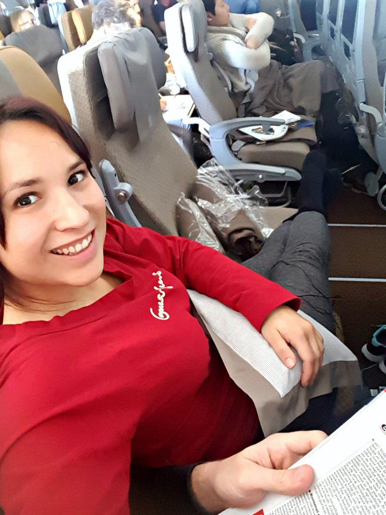 vliegen singapore airlines relaxen