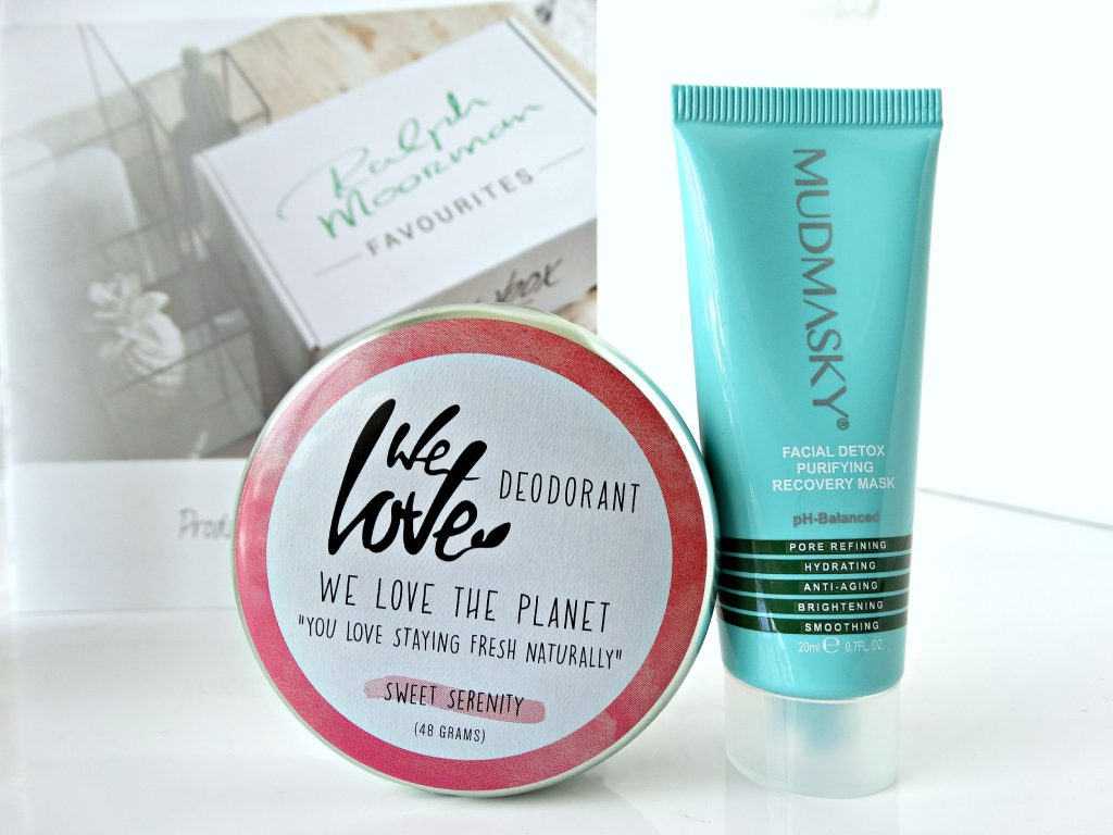 Jouwbox ralph moorman we love the planet deodorant mudmasky