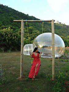 bubble hotel bali indonesie reisroute