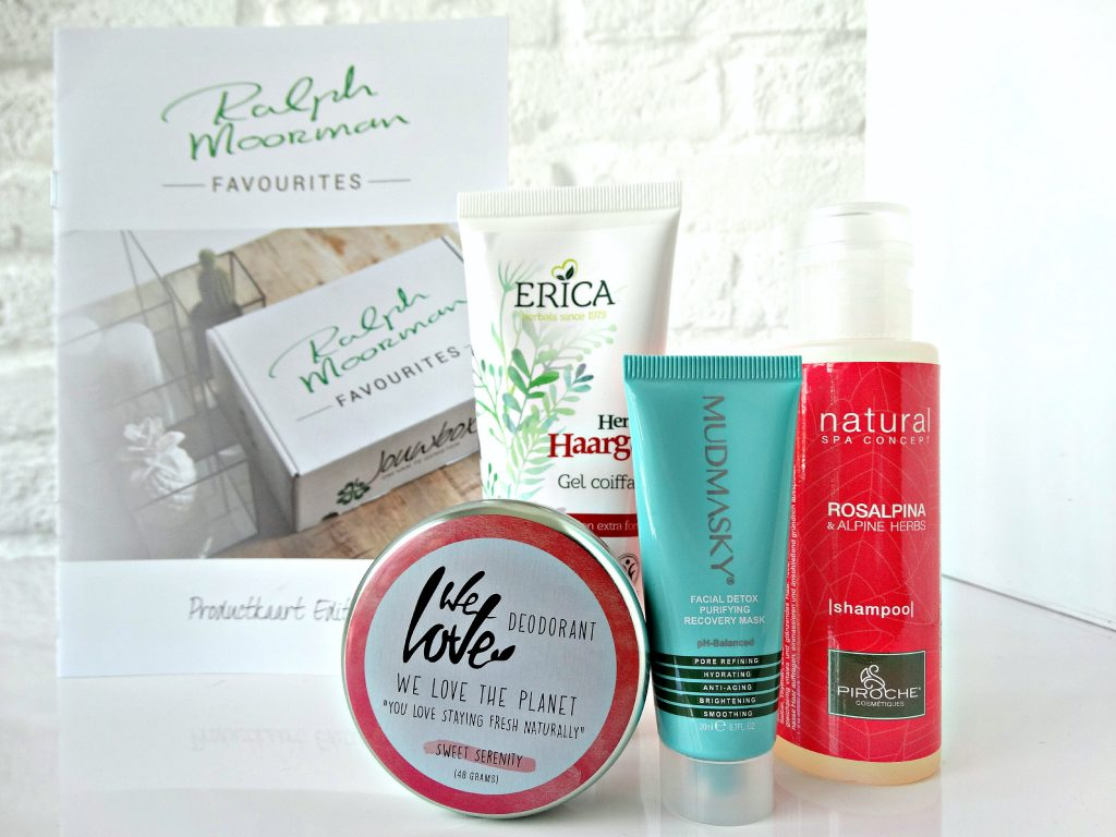 jouwbox ralph moormman deodorant shampoo mudmasky haargel