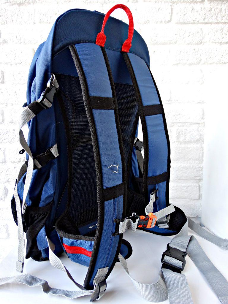 rugzak review wildebeast perry sport daypack ventilatie