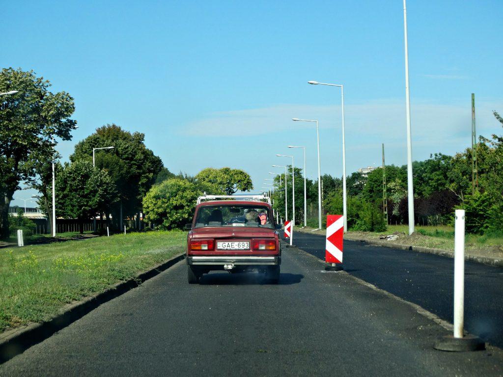 met de auto op vakantie budapest