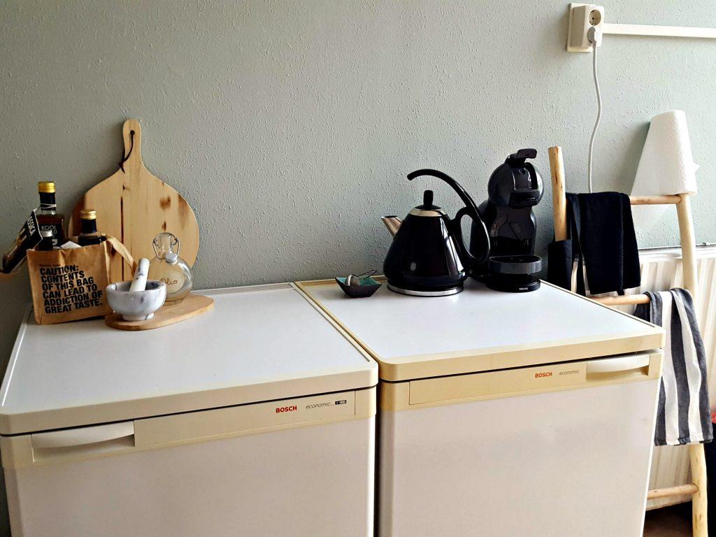 keuken accessoires waterkoker russel hobbs dolce gusto koelkast