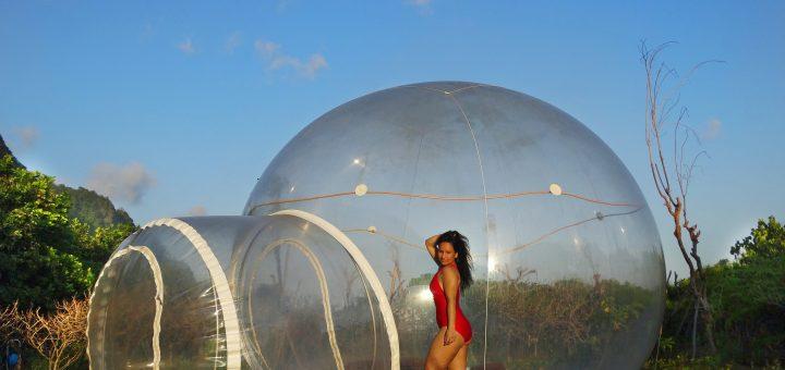 bubble hotel bali bijzonder overnachten zelf op de foto staan tips indonesie