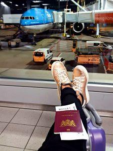 ipb-en KLM paspoort vliegen
